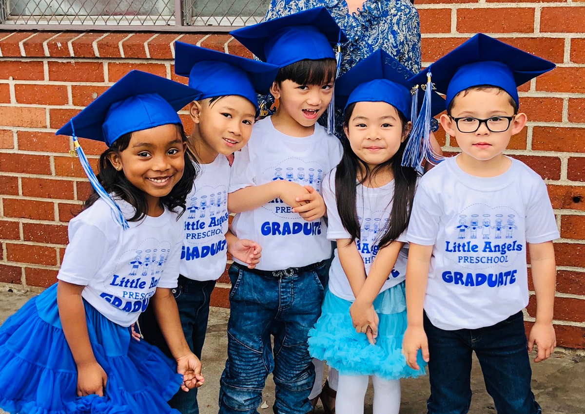 Little Angels Graduates